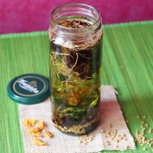 Herbs for Herbal Hair Oil