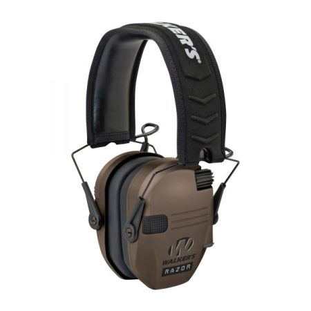 Slim Lightweight Electronic Hearing Protection perfect for hunting
