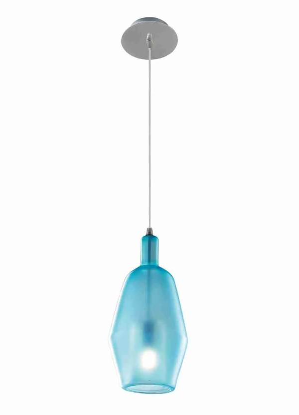 Egle Single Hanging Suspension Lamps Murano Glass according to ancient Venetian traditions. The shapes of the glass are various and all made with smooth glass, both the external sphere and the internal glass.