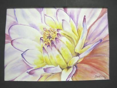 'Water Lily' Watercolor - Art & Buff