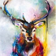 paint-by-number-deer-watercolour