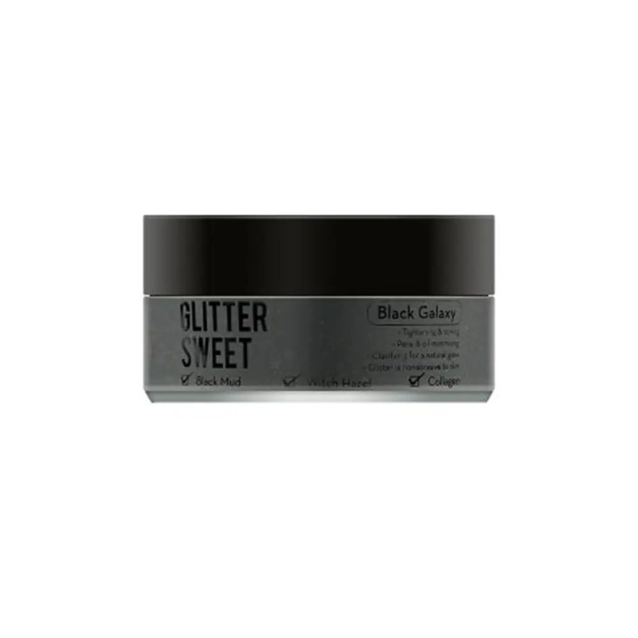 AVTREE – BLACK GLITTER – THE CREME SHOP 1