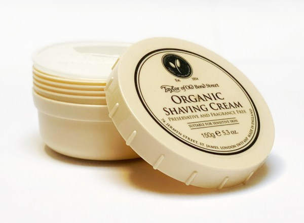 Taylor of Old Bond Street Organic Shaving Cream B4men Webshop