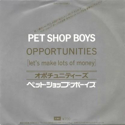 PET SHOP BOYS / OPPORTUNITIES / WEST END GIRLS