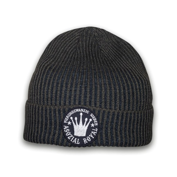 ripped-beanie-asozial-royal-247-olive