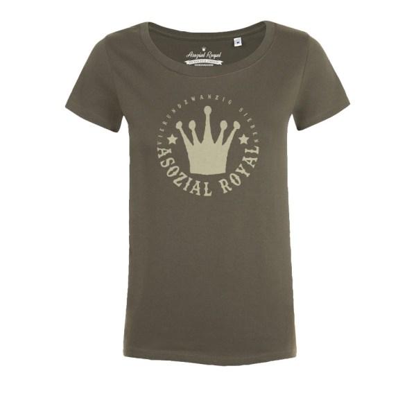 t-shirt-asozial-royal-ladies-24-7-army