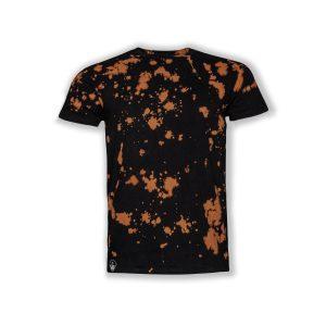 JUST2LS-T-Shirt-man-balck-bleeched