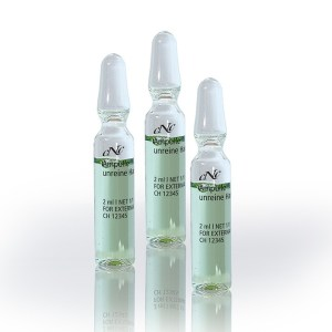 Wirkstoffampullen CNC unreine Haut