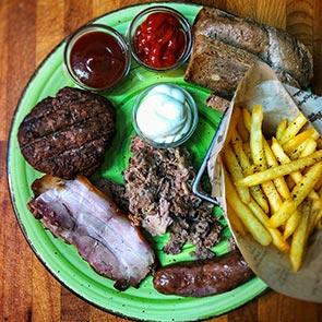 Piatto Barbecue (Affumicato)