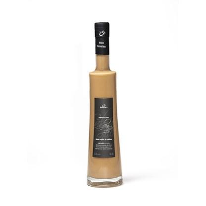 Botella de Cabrajillo, Crema de licor de leche de cabra con café