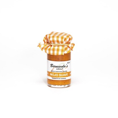 tarro de mojo canario rojo suave de 90ml