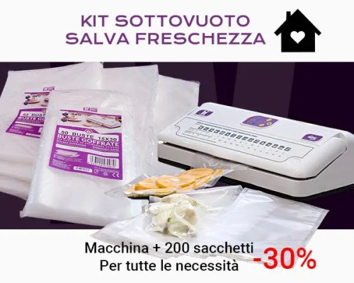 Kit Macchina sottovuoto e sacchetti
