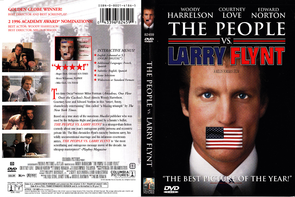 The People Vs. Larry Flynt 1996 Purchase From ShopBestlove