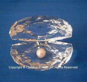 Parel in schelp - Kristal