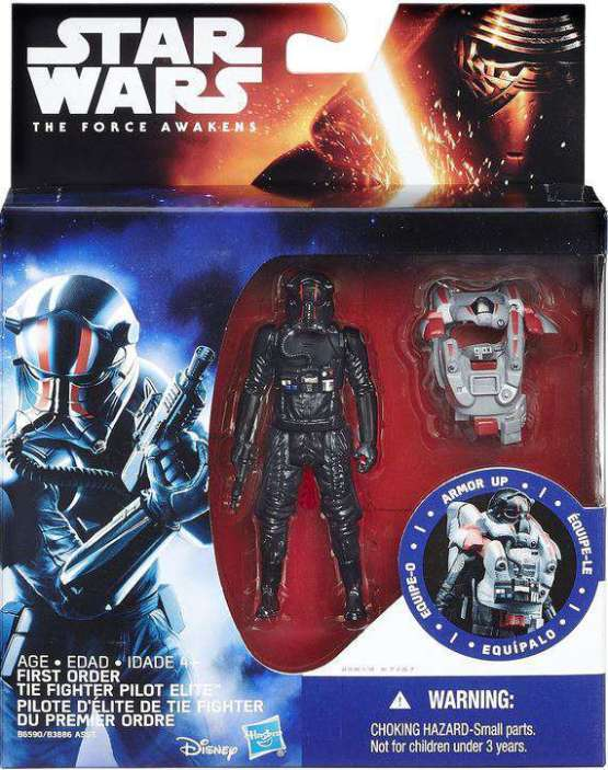 Star Wars Tie Pilot Figure
