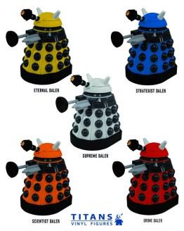 Titans Daleks