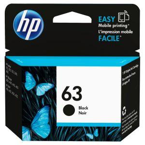 HP 63 F6U62AN Original Black Ink Cartridge Genuine Product from HP