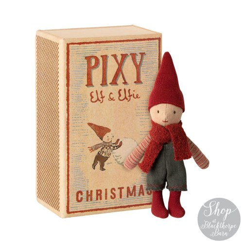 pixy elf and elfie maileg
