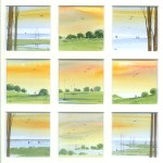A Beautiful Day, watercolour from the Snapshots of Norfolk collection by Katie Millard