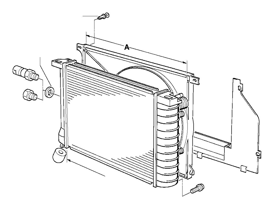 Bmw 528i Drain Plug Radiator M10 Frame