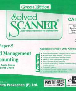 CA Final AMA Scanner by Arpita Ghose, Gourab Ghose for Nov 2018 Exam