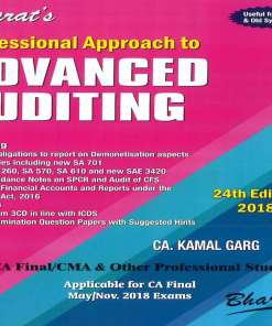 CA Final Audit Book By Kamal Garg for May, Nov 2018 (Old & New Syllabus)