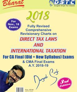 CA Final Direct Tax Book by Durgesh Singh for Nov 2018 (Old and New Syllabus)