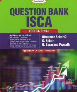 CA Final ISCA Question Bank by G Sekar for May 2018 Exam (Old Syllabus)