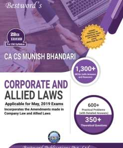 CA Final Law Book By Munish Bhandari for May 2019 - Detailed Edition