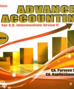 CA IPCC Advance Accounting Book by CA Parveen Sharma, CA Kapileshwar Bhalla for May 2018 Exam