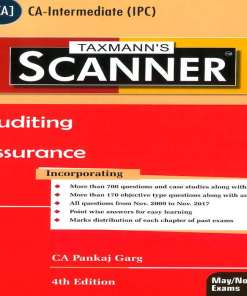 CA IPCC Auditing and Assurance Scanner by Pankaj Garg for May Nov 2018 Exam