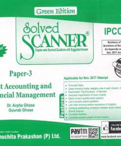 CA IPCC Cost FM Scanner by Arpita Ghose, Gourab Ghose for Nov 2018 Exam