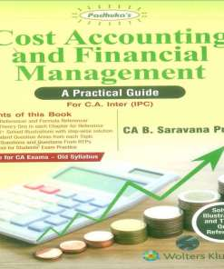CA IPCC Costing FM Book by B Saravana Prasath for May 2018 (old Syllabus)