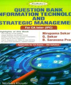 CA IPCC ITSM Question Bank Book by G Sekar, Nirupama Sekar G, B Saravana Prasath for May 2018 Exam