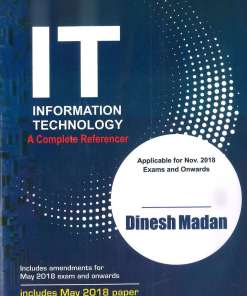 CA IPCC Information Technology Book by Dinesh Madan for Nov 2018 (Old Syllabus)