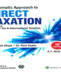 CMA Inter Direct Taxation Book by Girish Ahuja, Ravi Gupta for June 2018