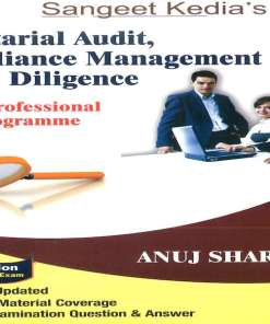 CS Professional Secretarial Audit, Compliance Management and Due Diligence Book By Anuj sharma for June 2018 Exam