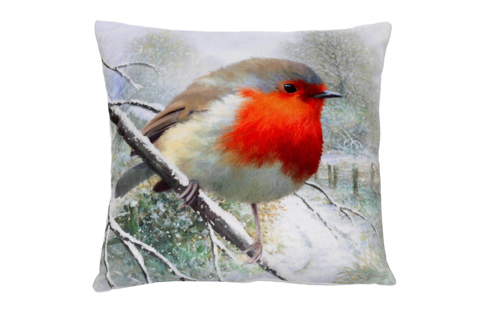 Robin Large Cushion Cancer Research UK Online Shop