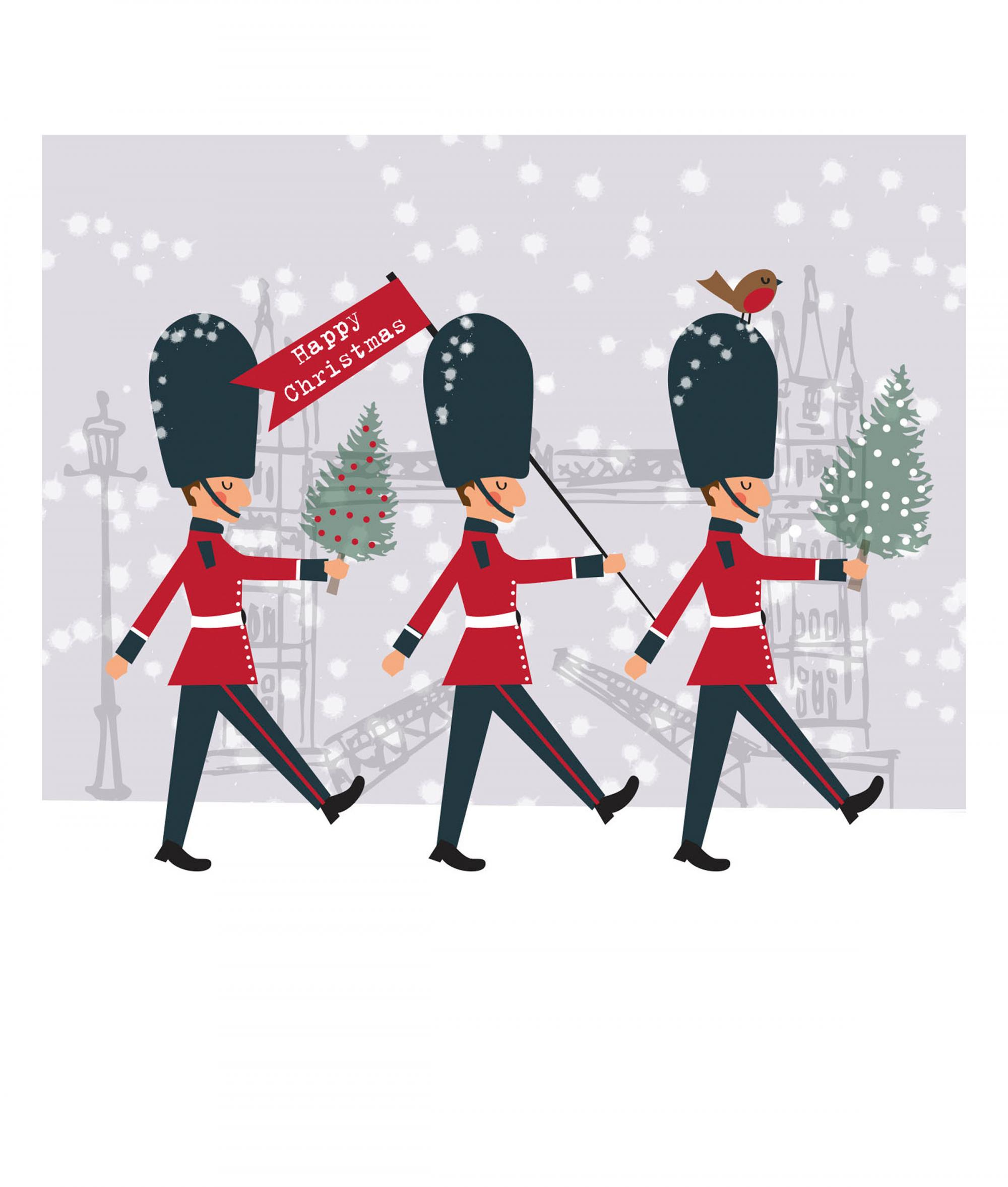 London Christmas Card Pack Of 10 Cancer Research UK