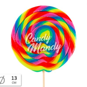 Felko Lolly Spiral Rainbow Mega 200 g