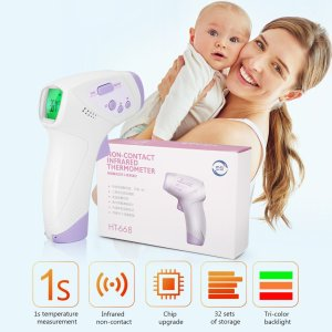 CE & FDA certified Infrared forehead thermometer Digital Non-Contact