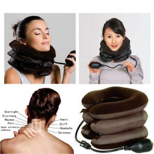 Inflatable Air Neck Traction Device for Neck Pain Stress Relief Neck Stretcher