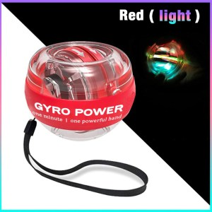 Self-starting Powerball Wrist Ball Muscle Relax Spinning Wrist Trainer + LED