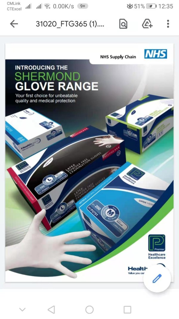 Nitrile Gloves Wholesale