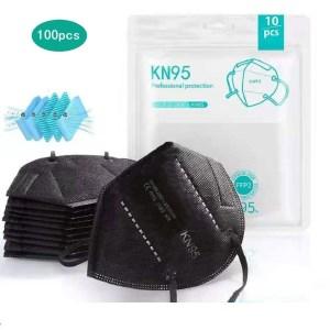 Black FFP2 KN95 Masks