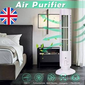 Home Ionic Air Purifier Negative Ion Generator Household Air Freshener Ionizer Odor Smoke Pollen Eliminator for Offices Home