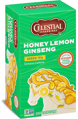 Celestial Seasonings Honey Lemon Ginseng Green Tea