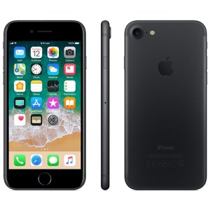 iPhone 7 32GB Black con cavo USB e adattatore europeo