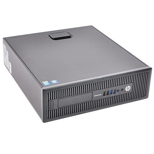 HP EliteDesk 800 G1 SFF Core i5-4670T Processor 3.60GHz 4096Mb DDR3 HDD 500 GB. W10 Home.