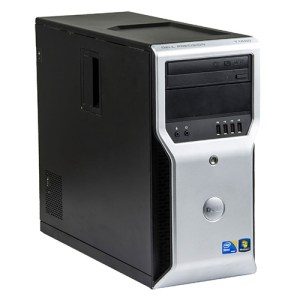 DELL T1600 Workstation Tower Xeon®E3-1225 v3 8GB DDR3, HDD 500GB, DVD, NVIDIA Quadro 2000. Windows 10 Pro.